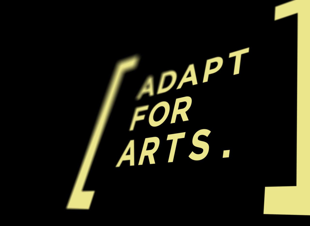 Adapt for Arts logo