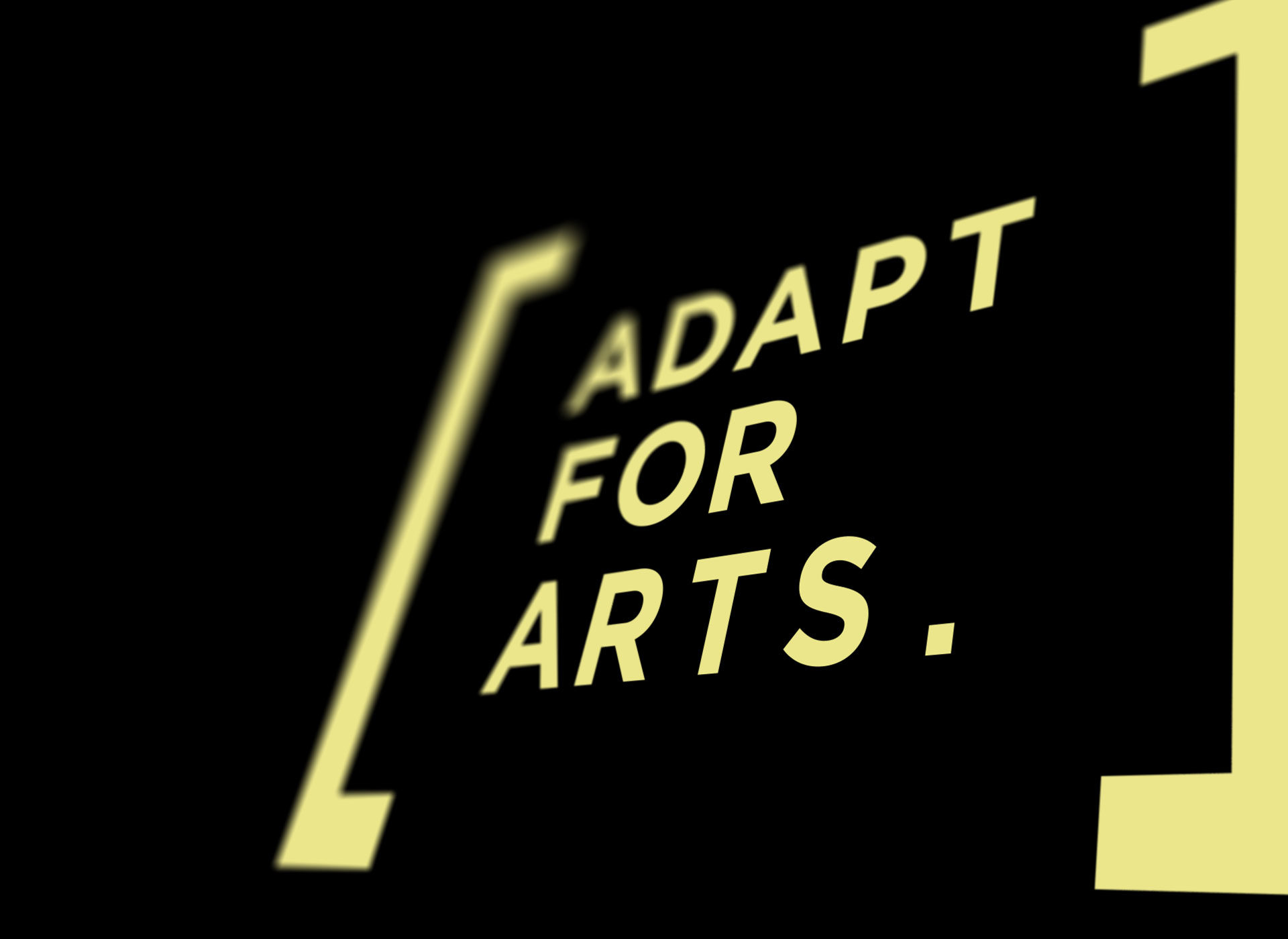 Adapt for Arts logo