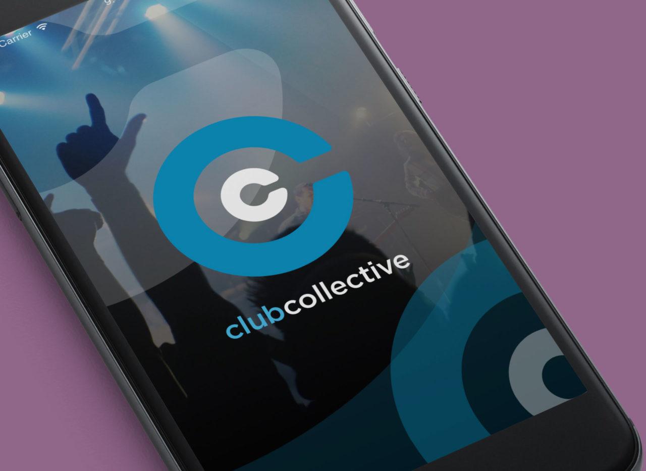 Club Collective homescreen
